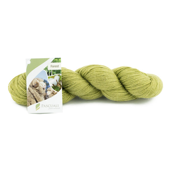 Pascuali Forest 105 olive, 4ply, 100g - I Wool Knit