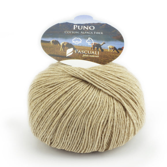 Pascuali Puno 024 scotch pine, organic cotton & Alpaca, 4ply, 50g - I Wool Knit
