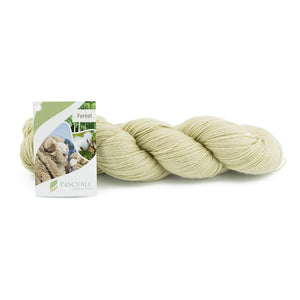 Pascuali Forest 102 oat, 4ply, 100g - I Wool Knit