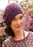 Rebecca Beanie with Lace Pattern - Knit Kit - I Wool Knit - 3