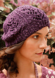 Rebecca Beanie with Lace Pattern - Knit Kit - I Wool Knit - 2