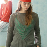 Lace-Knit Jumper in ggh Linova - Rebecca Knit Kit - I Wool Knit