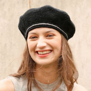 French Beret in ggh Wollywasch - Rebecca Crochet Kit - I Wool Knit