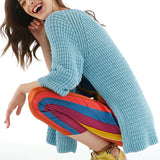 Open-sided Brioche Sweater in ggh Volante - Rebecca Knit Kit
