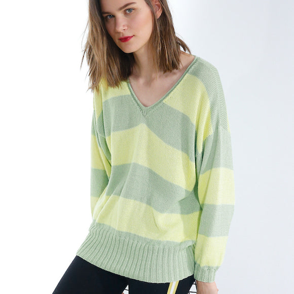 Rebecca Jumper in ggh Bambu - I Wool Knit