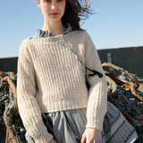 Cropped Sweater in ggh Norvika - Rebecca Knit Kit - I Wool Knit