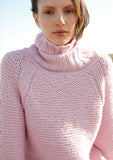 Raglan jumper in ggh Norvika - Rebecca Knit Kit - I Wool Knit