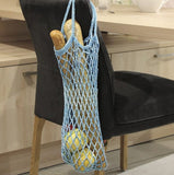 Crochet Mesh Shopping Bag in Cotton, I Wool Knit