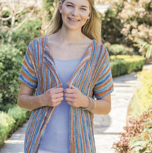Funky jacket in Xenia yarn, I Wool Knit