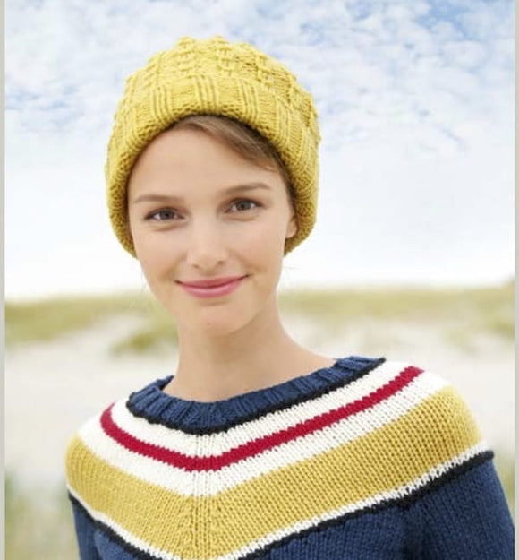 Unisex Beanie in ggh Sportlife - Rebecca Knit Kit - I Wool Knit