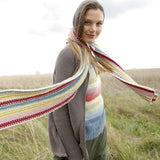 Scarf worked lengthwise in ggh Sportlife - Rebecca Knit Kit - I Wool Knit