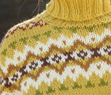 Rebecca Knit Kit. Jacquard jumper in ggh Sportlife. I Wool Knit