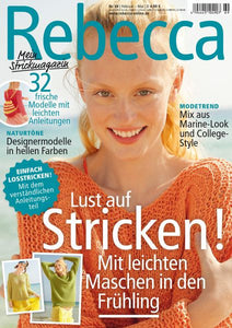 Rebecca Knitting Magazine 69 - Spring 2017 - I Wool Knit