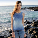 Top with Structural Pattern in ggh Manila - Rebecca Knit Kit - I Wool Knit