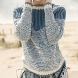Raglan Pullover in ggh Volante - Rebecca Knit Kit