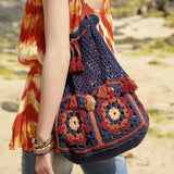 Retro-Style Crochet Bag, Rebecca Crochet Kit, I Wool Knit