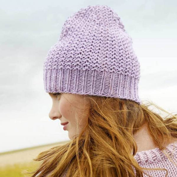 Beanie/ Hat in ggh Sportlife - Rebecca Knit Kit - I Wool Knit