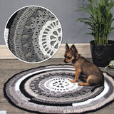 Circular Rug in recycled cotton - Crochet Kit - I Wool Knit