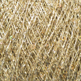 Rellana Pailletten 202 Gold - Sequinned Auxiliary Yarn - I Wool Knit