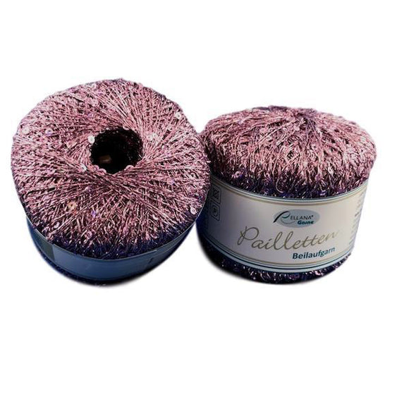 Rellana Pailletten Sequinned Auxiliary Yarn - I Wool Knit