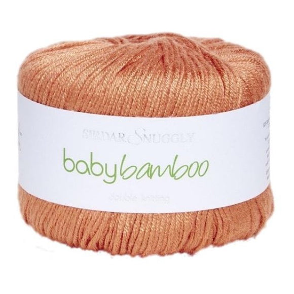 Sirdar Snuggly, Baby Bamboo DK 084, Carrot, 50g - I Wool Knit