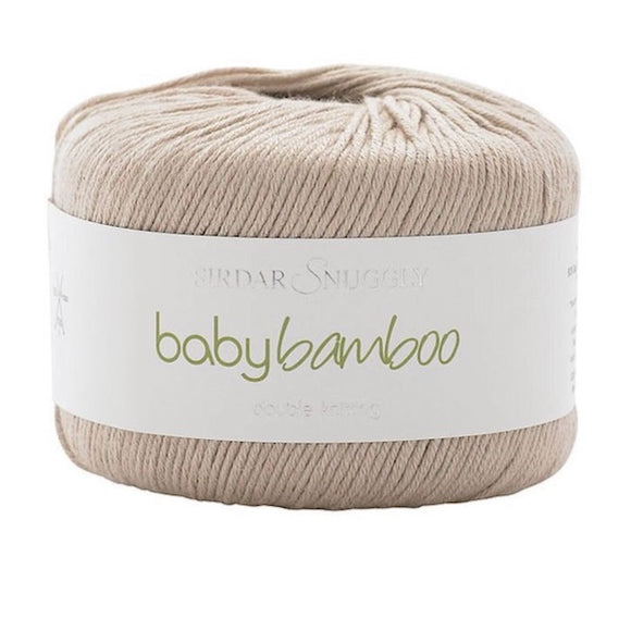 Sirdar Snuggly, Baby Bamboo DK 091, Hedgie, 50g - I Wool Knit