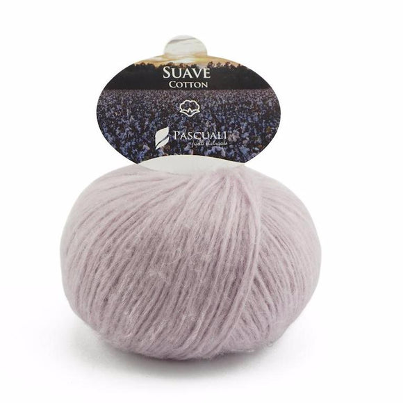 Pascuali Suave 068 lilac, cotton yarn with cashmere feel, 25g - I Wool Knit