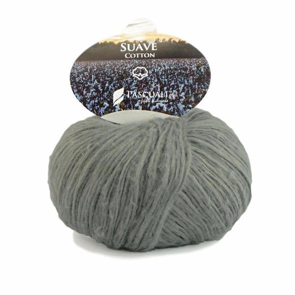 Pascuali Suave. Cotton yarn with cashmere feel. I Wool Knit