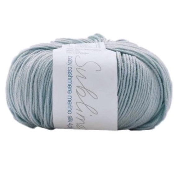 Sublime Baby Cashmere Merino Silk 100, paddle, 4ply, 50g - I Wool Knit