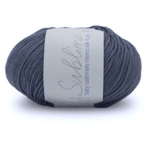Sirdar Sublime Baby Cashmere Merino Silk 051, button, 4ply, 50g - I Wool Knit