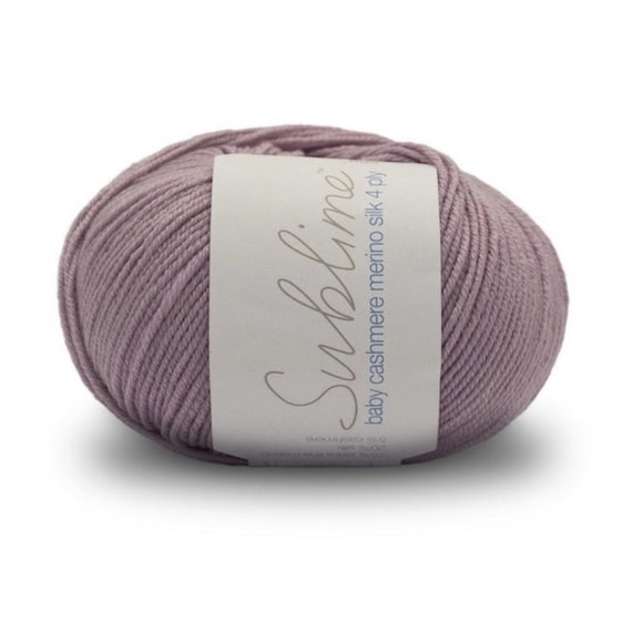 Sublime Baby Cashmere Merino Silk 685, Bashful, 4ply, 50g - I Wool Knit