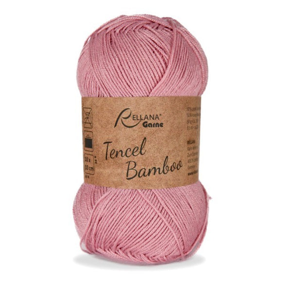 Rellana Tencel Bamboo 010 rose, 5ply, 50g - I Wool Knit