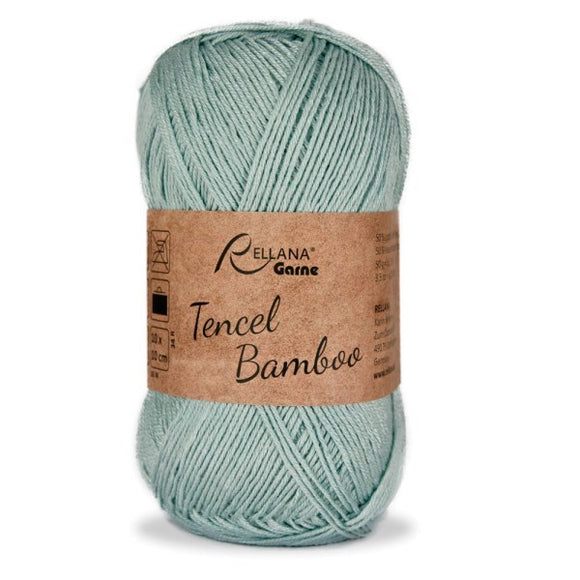 Rellana Tencel Bamboo 011 grey-blue, 5ply, 50g - I Wool Knit