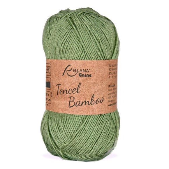 Rellana Tencel Bamboo 013 petrol-green, 5ply, 50g - I Wool Knit