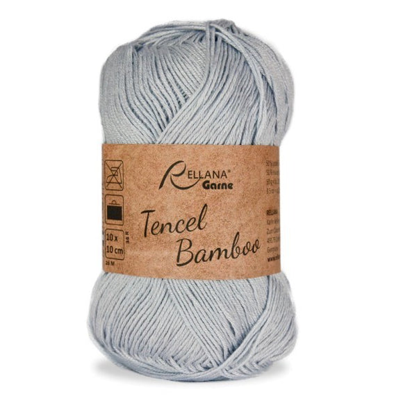 Rellana Tencel Bamboo 014 silver-grey, 5ply, 50g - I Wool Knit