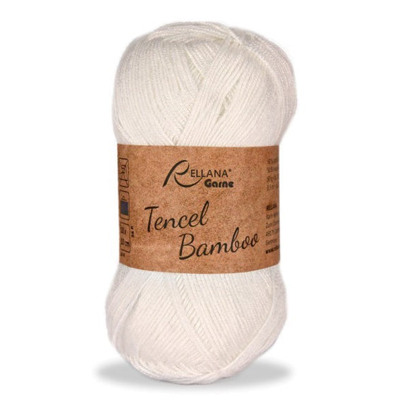 Rellana Tencel Bamboo 016 ecru, 5ply, 50g - I Wool Knit