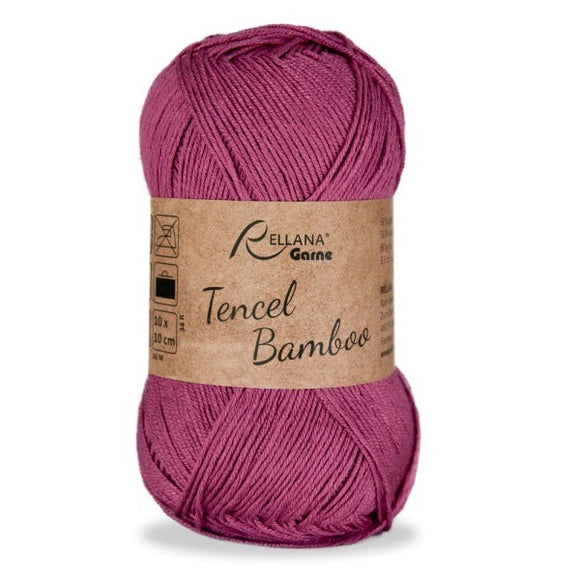 Rellana Tencel Bamboo 034 antique pink, 5ply, 50g