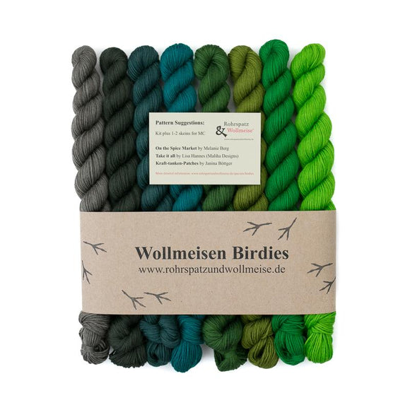 Wollmeise Birdies, The African Queen, Charlie und Rosi, 240g - I Wool Knit