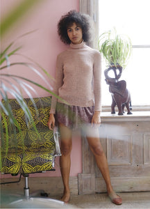 Light Sweater in ggh Lacy - Rebecca Knit Kit - I Wool Knit