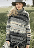 Rebecca Knit Kit, Wide women's jumper in ggh Joker, I Wool Knit