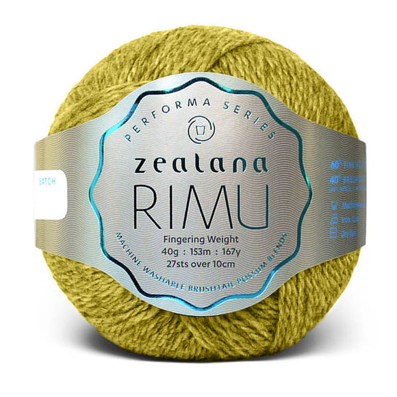 Zealana Rimu Fingering 02, Kiwicrush, Merino-Possum, 4ply, 40g - I Wool Knit