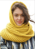 Cowl in Fishermans Rib - I Wool Knit