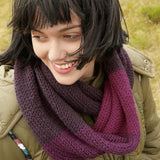 Cowl (Loop) in ggh Sportlife - Rebecca Knit Kit - I Wool Knit