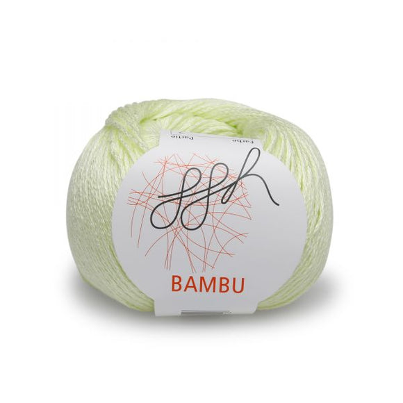 ggh Bambu 002, pale yellow-green, 100% bamboo, 50g - I Wool Knit