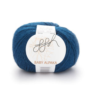 ggh Baby Alpaca Color 020, Dark Petrol, 50g - I Wool Knit