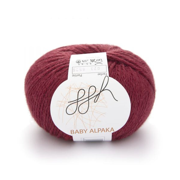 ggh Baby Alpaca Color. I Wool Knit