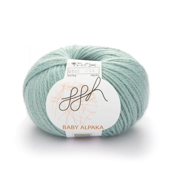 ggh Baby Alpaca Color 033, Lustrous Glass, 50g - I Wool Knit