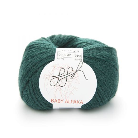 ggh Baby Alpaca Color 045, dark green, 50g