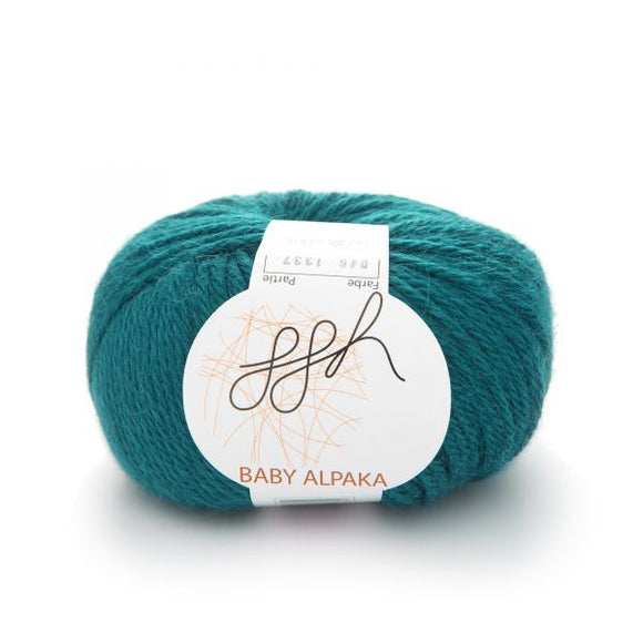 ggh Baby Alpaca Color 046, Petrol, 50g - I Wool Knit