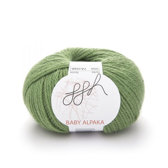 ggh Baby Alpaca Color 050, Pistacchio, 50g - I Wool Knit